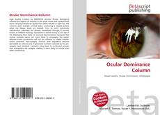 Couverture de Ocular Dominance Column