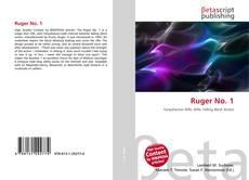 Capa do livro de Ruger No. 1