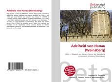 Обложка Adelheid von Hanau (Weinsberg)