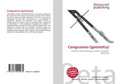 Bookcover of Congruence (geometry)