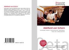 Обложка Adelheid von Schorn