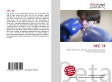 Bookcover of UFC 13