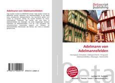 Capa do livro de Adelmann von Adelmannsfelden