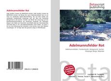 Bookcover of Adelmannsfelder Rot