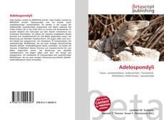 Adelospondyli kitap kapağı