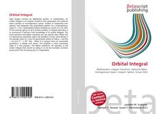 Bookcover of Orbital Integral