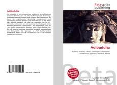 Capa do livro de Adibuddha