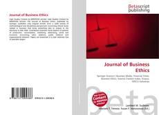 Portada del libro de Journal of Business Ethics