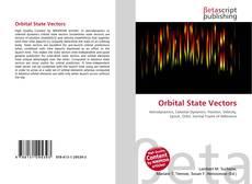 Portada del libro de Orbital State Vectors