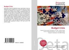 Buchcover von Budget Crisis