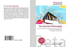 Buchcover von Pre-Socratic Philosophy