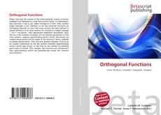 Обложка Orthogonal Functions