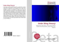 Order (Ring Theory)的封面