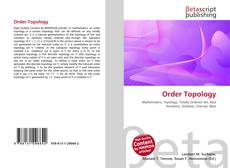 Bookcover of Order Topology