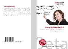 Bookcover of Nambu Mechanics
