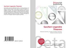 Bookcover of Saccheri–Legendre Theorem