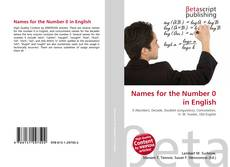 Names for the Number 0 in English kitap kapağı