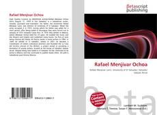 Portada del libro de Rafael Menjívar Ochoa