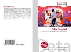 Oday Rasheed kitap kapağı