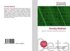 Capa do livro de Penalty Method