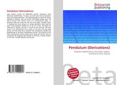 Bookcover of Pendulum (Derivations)