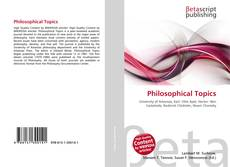 Bookcover of Philosophical Topics