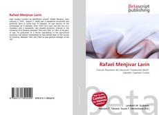 Portada del libro de Rafael Menjívar Larín