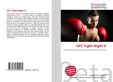 Bookcover of UFC Fight Night 6