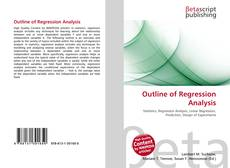 Bookcover of Outline of Regression Analysis