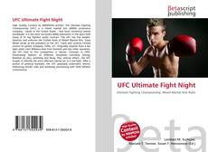 Bookcover of UFC Ultimate Fight Night