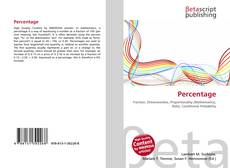 Bookcover of Percentage
