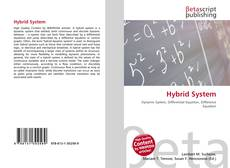 Bookcover of Hybrid System