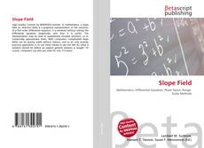 Bookcover of Slope Field
