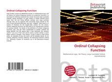 Capa do livro de Ordinal Collapsing Function