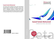 Couverture de Saeed Sulub Mohamed