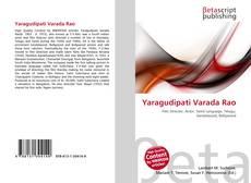 Bookcover of Yaragudipati Varada Rao