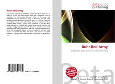 Bookcover of Ruhr Red Army