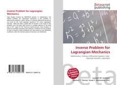 Обложка Inverse Problem for Lagrangian Mechanics