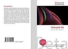 Bookcover of Ruhrpott AG