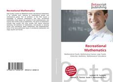 Bookcover of Recreational Mathematics