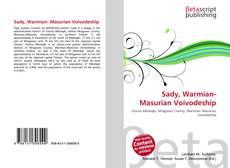Bookcover of Sady, Warmian- Masurian Voivodeship