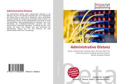 Bookcover of Administrative Distanz