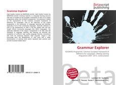 Portada del libro de Grammar Explorer