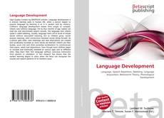 Buchcover von Language Development