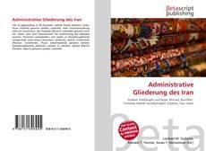 Bookcover of Administrative Gliederung des Iran