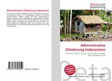 Bookcover of Administrative Gliederung Indonesiens