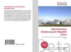 Copertina di Administrative Gliederung der Republik China