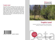 Bookcover of Trophic Level