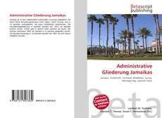 Buchcover von Administrative Gliederung Jamaikas