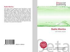 Buchcover von Radio Mantra